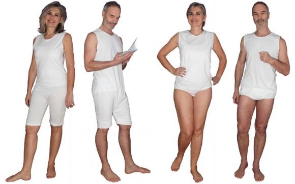Deux nouveaux bodys Solaise à porter par-dessus la couche en cas d'incontinence.