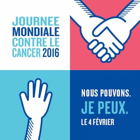 4 février, journée mondiale contre le cancer : #NousPouvonsJePeux
