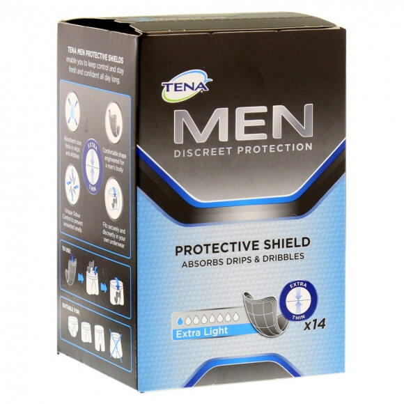 Tena Men Extra Light, protection 100 % masculine sp�ciale incontinence l�g�re