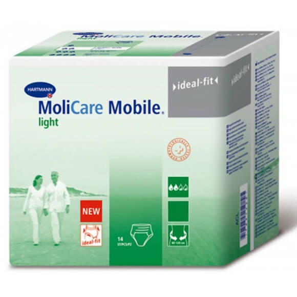 Molicare Mobile light, un nouveau slip absorbant ultra confortable