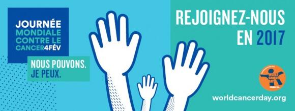 Journée mondiale de lutte contre le cancer 2017: Je peux!