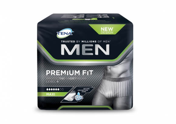 Tena Men Premium Fit, le nouveau slip absorbant invisible