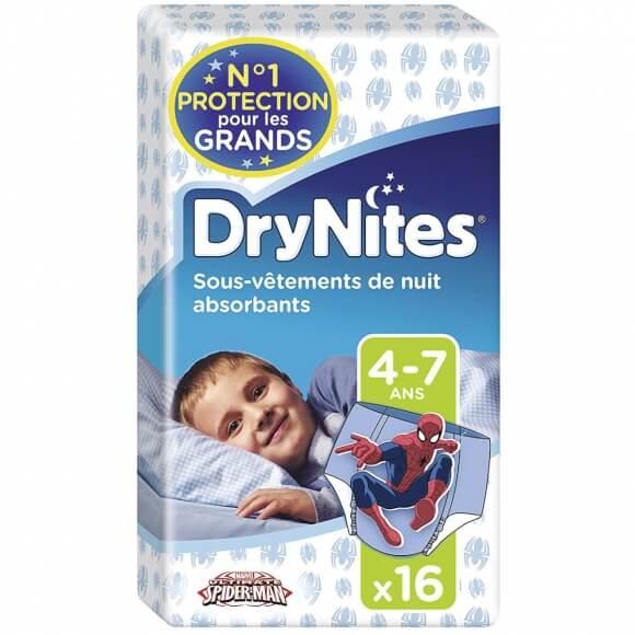Soignez mieux l'énurésie avec les culottes de nuit DryNites!