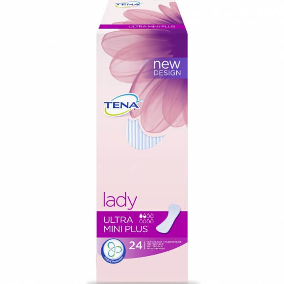 Tena Lady Ultra Mini Plus, la protection la plus souple de Tena Lady