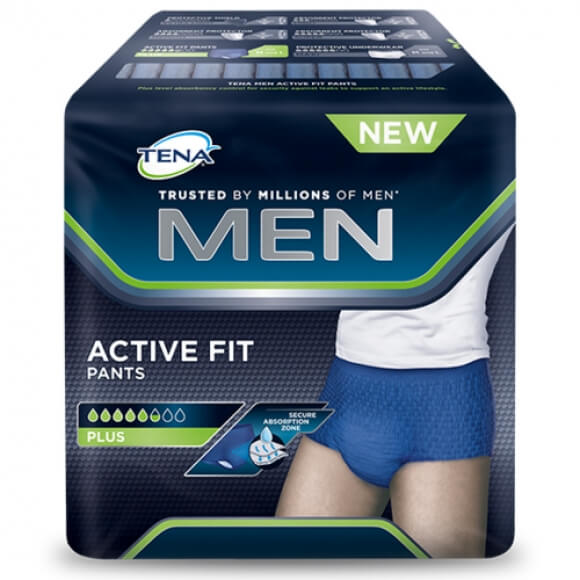 Tena Men Active Fit, confort et efficacité antifuites au masculin