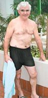 Culotte piscine incontinence pour homme