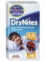 DryNites Culottes de nuit garçons 8 - 15 ans ( Lot de 3 )