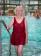 Miniature Culotte piscine pour femme avec fermeture dans le dos