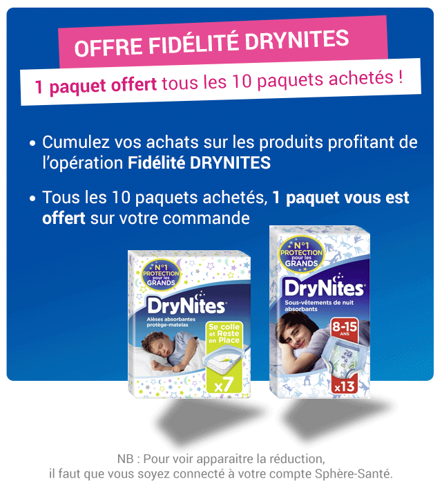 Promotion DryNites
