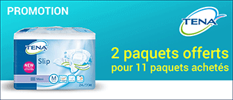 Promotion Tena Slip Medium Original Plastifié