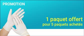 Promotion Abena-Frantex Gants vinyle sans poudre (Taille 7-8)