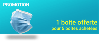 Promotion Masques Chirurgicaux Type 2 (50 / paquet)