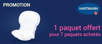 Promotion Hartmann MoliCare Pad Plastifiées 3 Gouttes