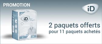Promotion Ontex-ID For Men Level 3