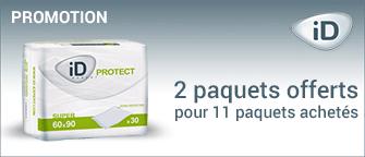 Promotion Al�ses Ontex-ID Expert Protect Super 60 x 60 cm