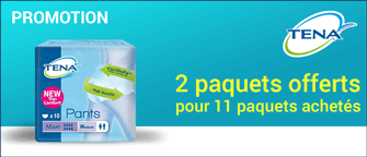 Promotion Tena Silhouette Large Normal