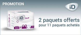 Promotion Ontex-ID Expert Slip Medium Super Plastifié