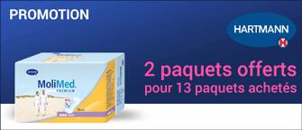 Promotion Hartmann Molimed Premium Maxi