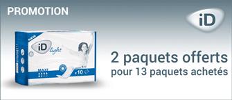 Promotion Ontex-ID Light Mini Plus