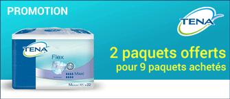 Promotion Tena Flex Medium Maxi