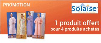 Promotion Robe de chambre Clotilde médicalisée tissu Courtelle