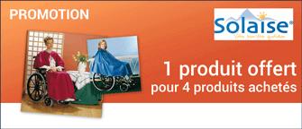 Promotion Vêtement de pluie court pour fauteuil roulant