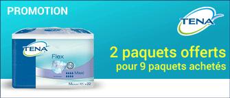 Promotion Tena Flex Small Maxi