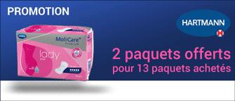 Promotion Hartmann MoliCare Premium Lady Pad 4 Gouttes