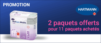 Promotion Hartmann Molicare Mobile Extra Large 8 Gouttes