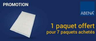 Promotion Alèses Abena-Frantex Abri Soft Basic 60 x 60 cm