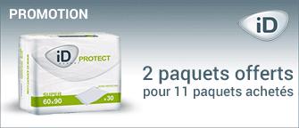 Promotion Alèses Ontex-ID Expert Protect Super 60 x 60 cm