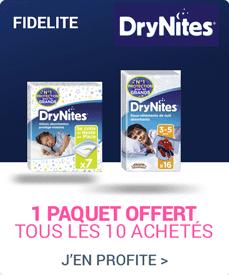 Fidélité DryNites