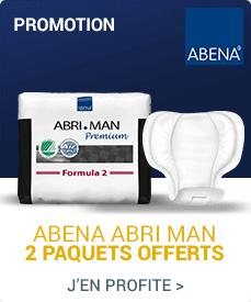 Accédez à la promotion Abena-Frantex Abri-Man