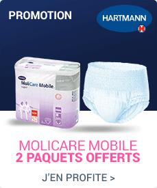 Acc�dez � la promotion Hartmann Molicare Mobile