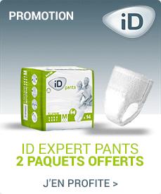 Accédez à la promotion Ontex-ID Pants