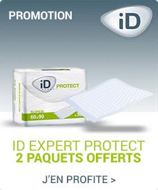 Accédez à la promotion Ontex-ID Expert Protect