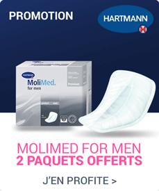 Accédez à la promotion Hartmann Molimed For Men
