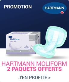 Accédez à la promotion Hartmann Moliform