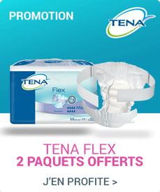 Accédez à la promotion Tena Flex