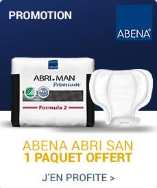 Accédez à la promotion Abena-Frantex Abri-San 5 à 11