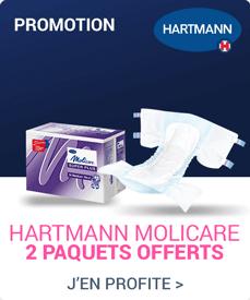 Accédez à la promotion Hartmann Molicare