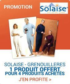 Accédez à la promotion Solaise Grenouillère
