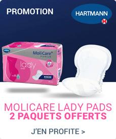 Accédez à la promotion Hartmann Molicare Lady Pad