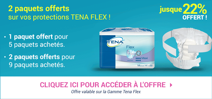Promotion Tena Flex
