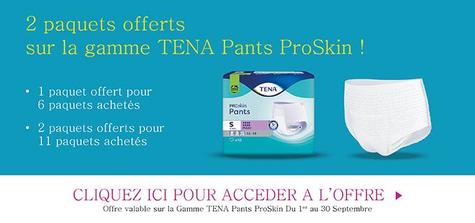 Promotion Tena Pants