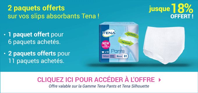 Promotion Tena Pants