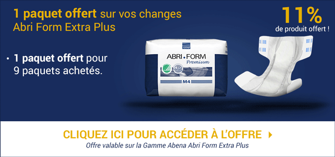 Promotion Abena-Frantex Abri Form Air Plus Extra Plus