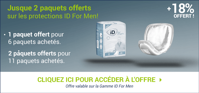 Promotion Ontex-ID For Men