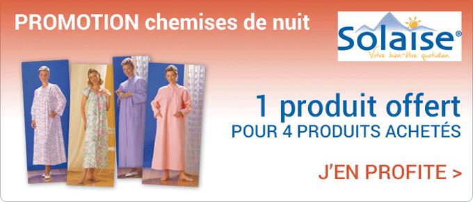 Promotion Solaise chemises de nuit