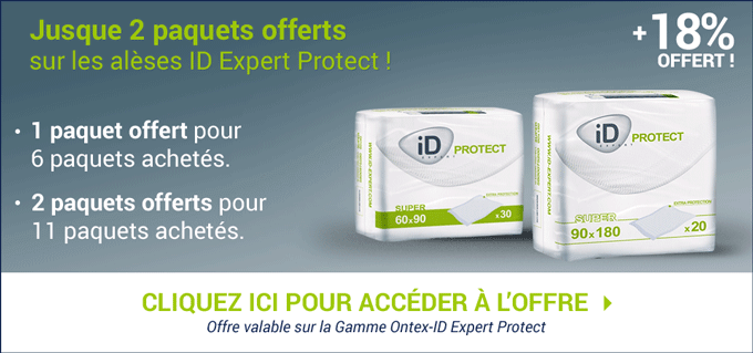 Promotion Ontex-ID Expert Protect